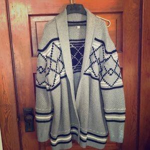 "Men's Merona No Button ""Dude"" Sweater XXL"